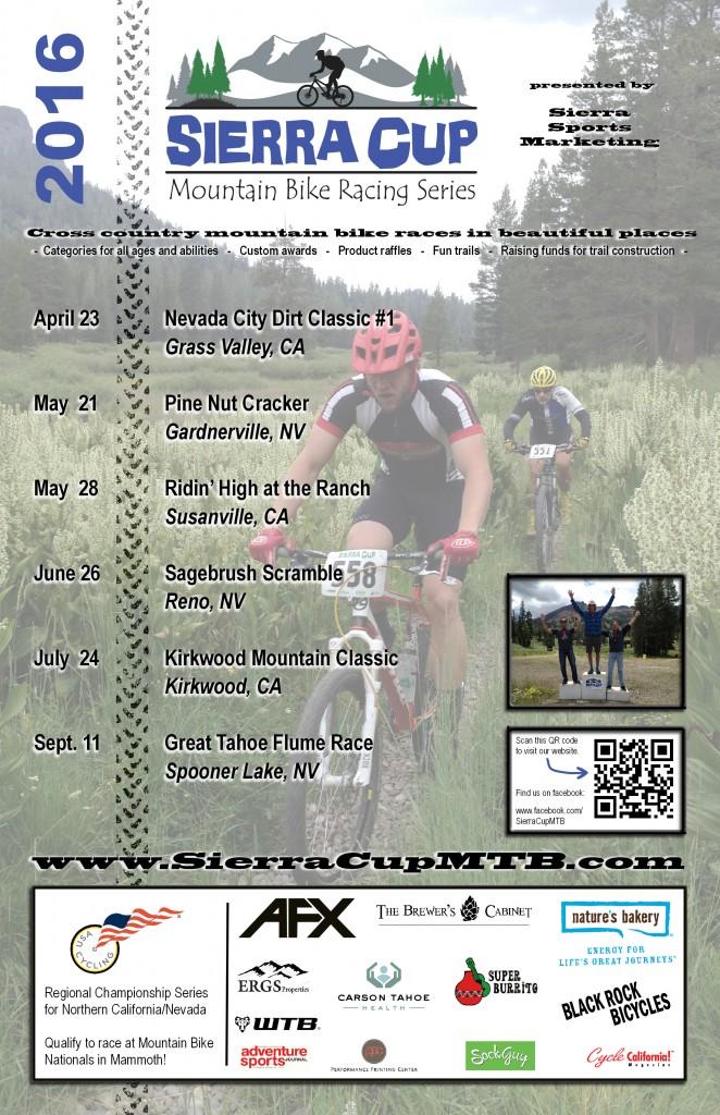 2016 Sierra Cup poster